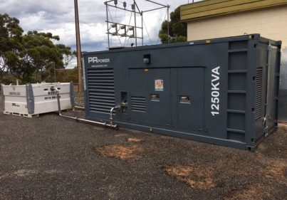 Gallery 1250 kVA containerised Cummins diesel generator for Port Lincoln