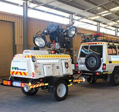 EMERGENCY SERVICES MOBILE LIGHTING TOWERS